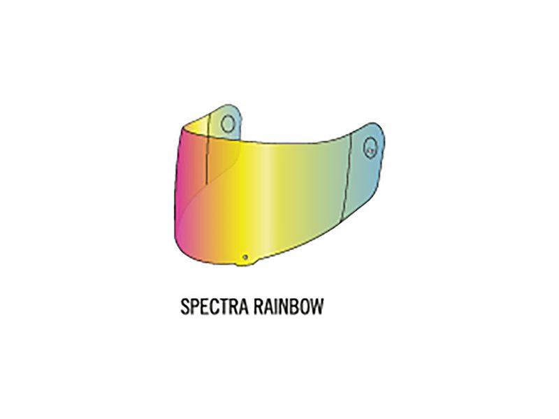 3PW1819400/04-X-SPIRIT III 3D VISOR SPECTRA RAINBOW-image
