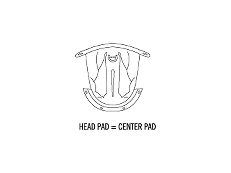 3PW1819400/25-X-SPIRIT III  CENTER PAD-image