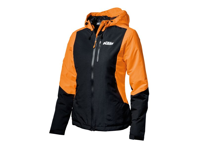 3PW1981305-WOMEN ORANGE JACKET-image