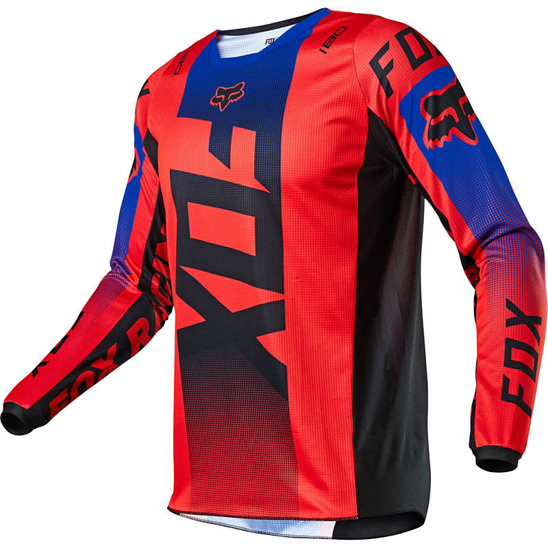 2021 Fox Youth 180 Oktiv Jersey Flo Red
