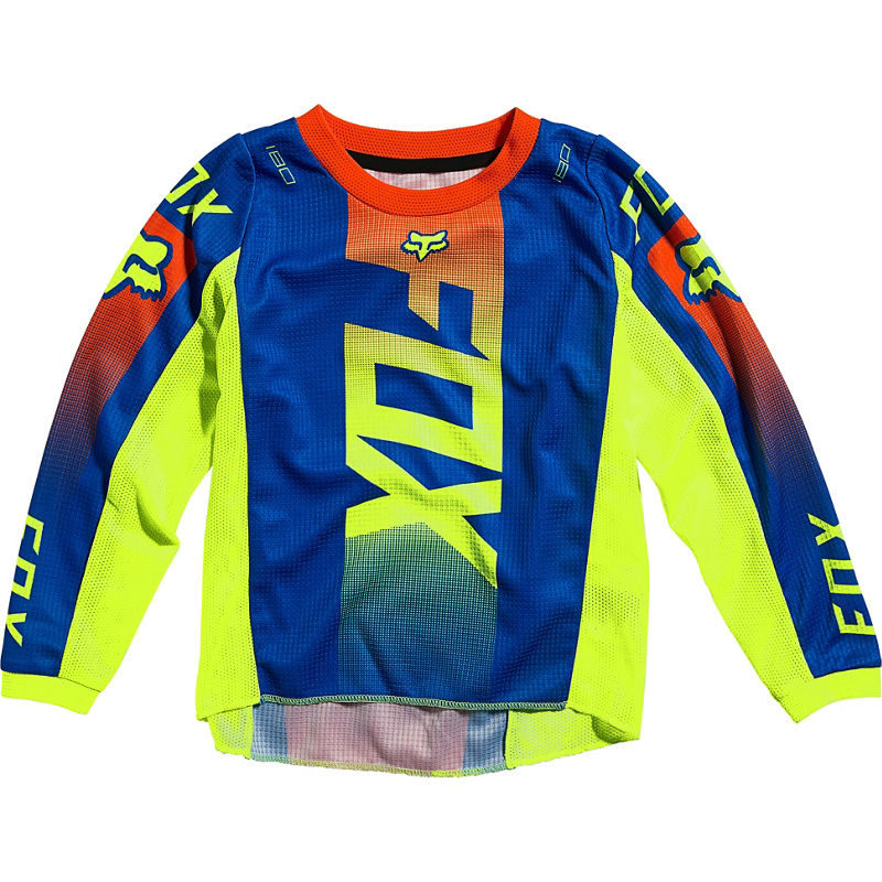 2021 Fox Kids 180 Oktiv Jersey Blue