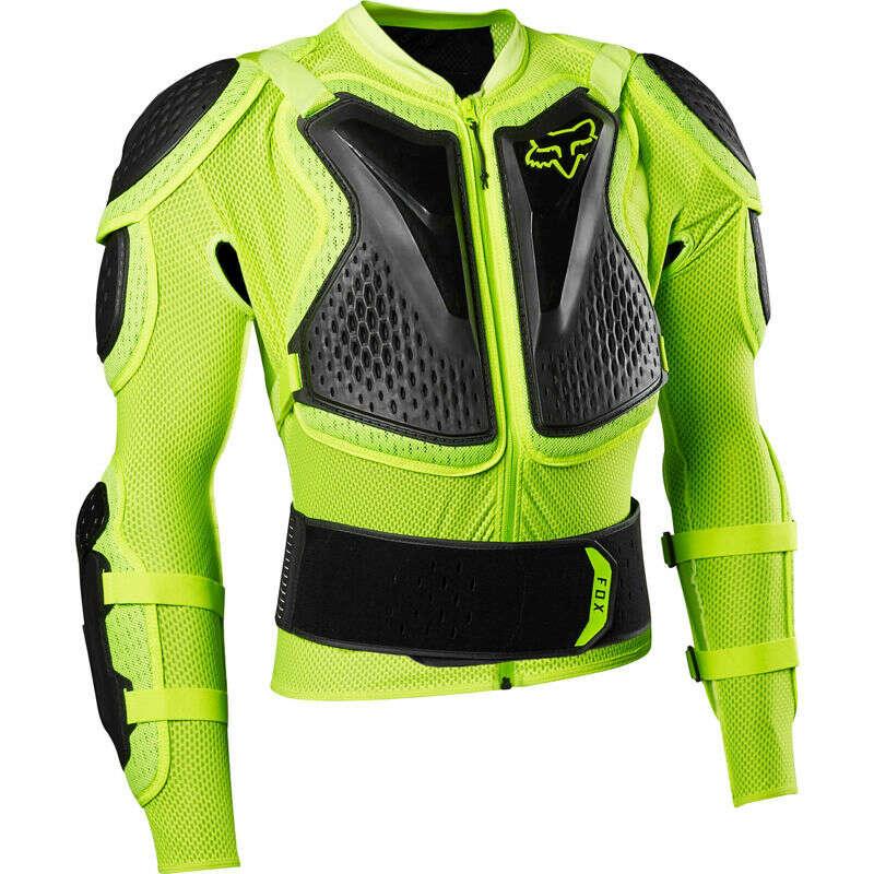 FOX Titan Sport Jacket Flo Ylw
