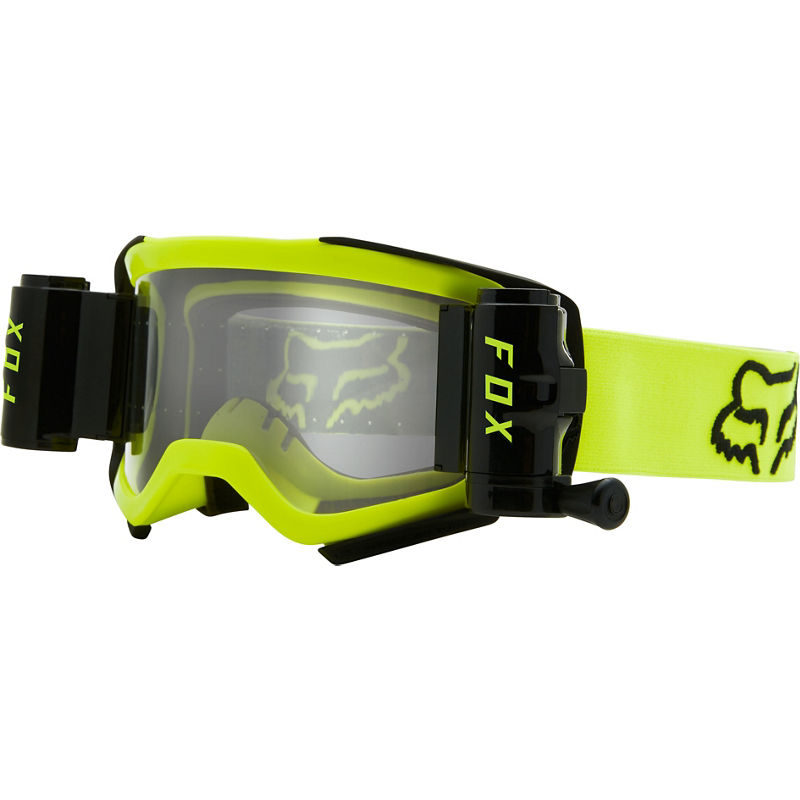 AIRSPACE STRAY ROLL OFF GOGGLE (FLO YLW)
