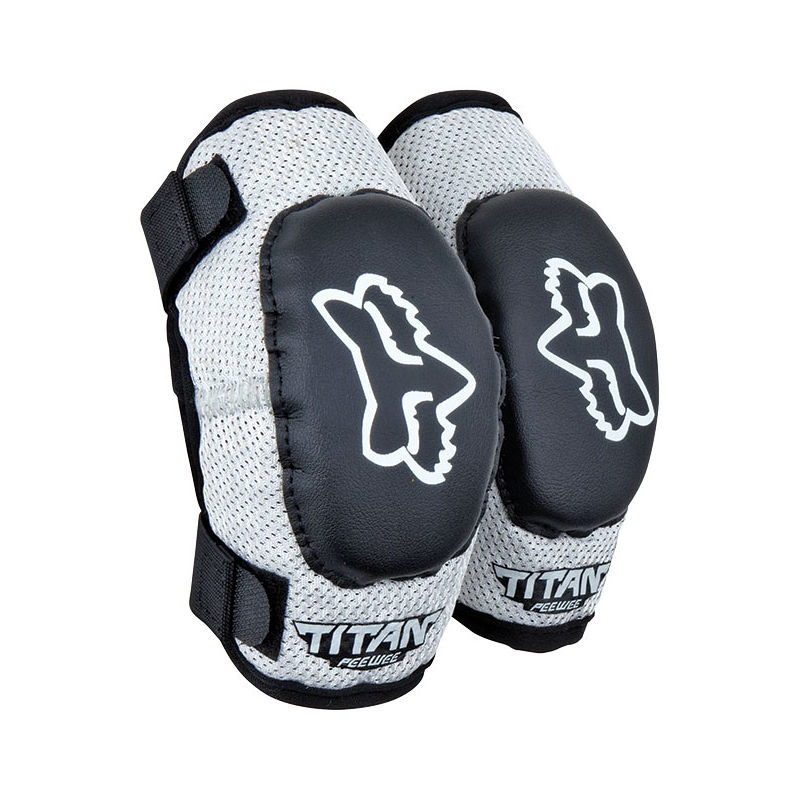 PEEWEE TITAN YOUTH ELBOW BLK/SIL