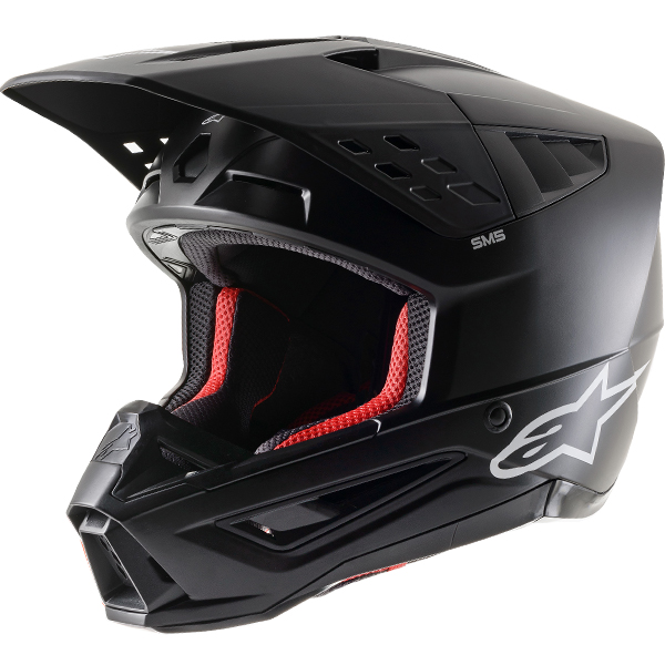 Alpinestars Supertech S-M5 Solid Matt Black Helmet
