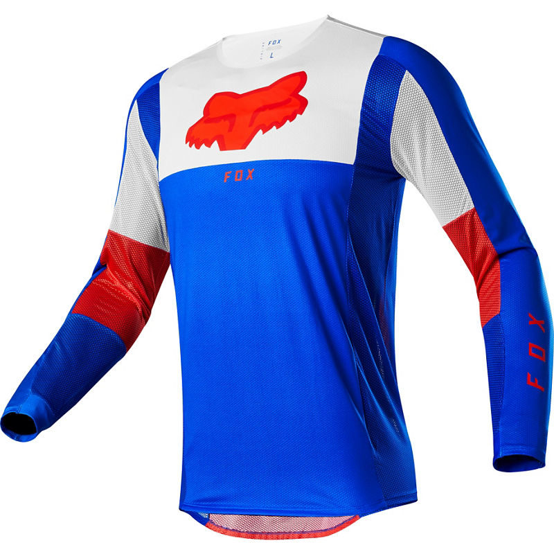 2021 Fox Airline Pilr Jersey Blue/Red
