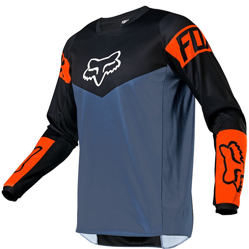 2021 Fox Youth 180 Revn Jersey Blue Steel