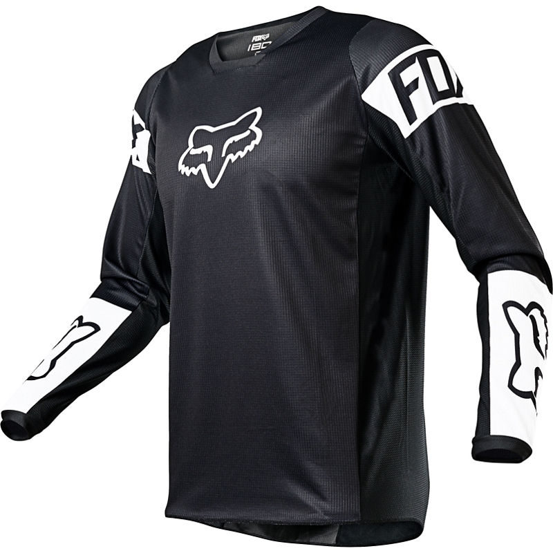 2021 Fox Youth 180 Revn Jersey Black/White