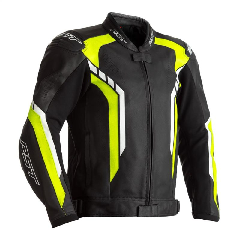 RST AXIS CE MENS LEATHER JACKET