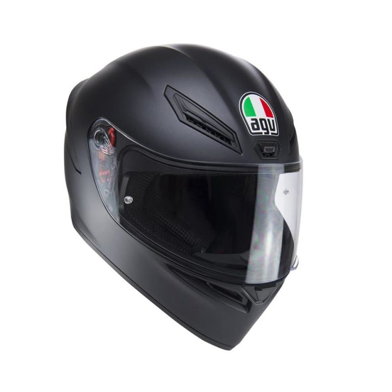 AGV K1 PLAIN MATT BLACK