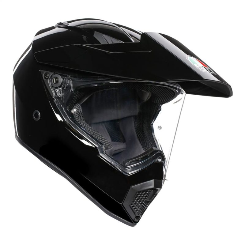 AGV AX9 SOLID BLACK