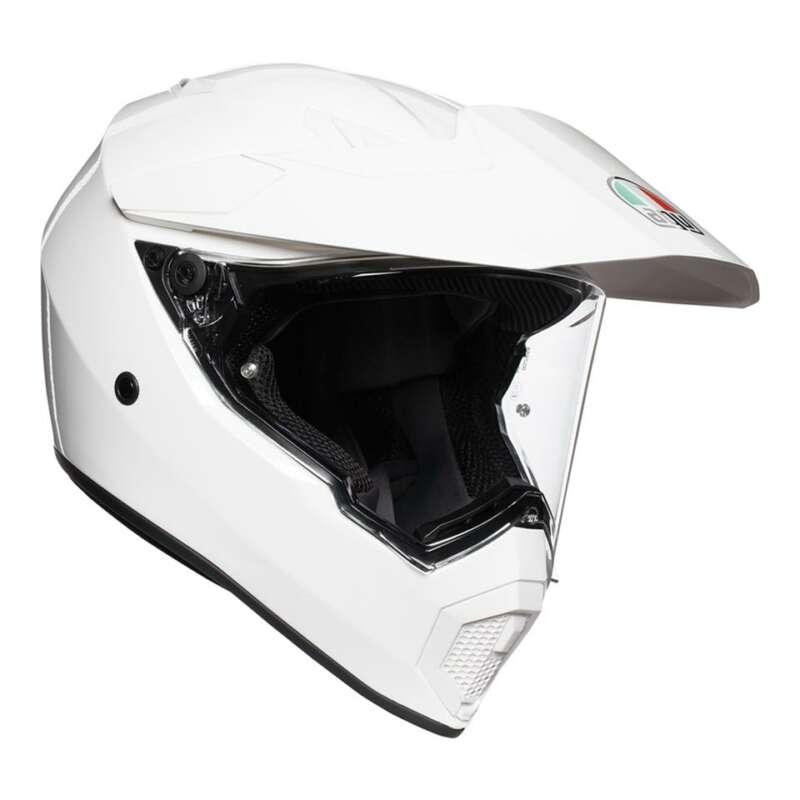 AGV AX9 SOLID WHITE