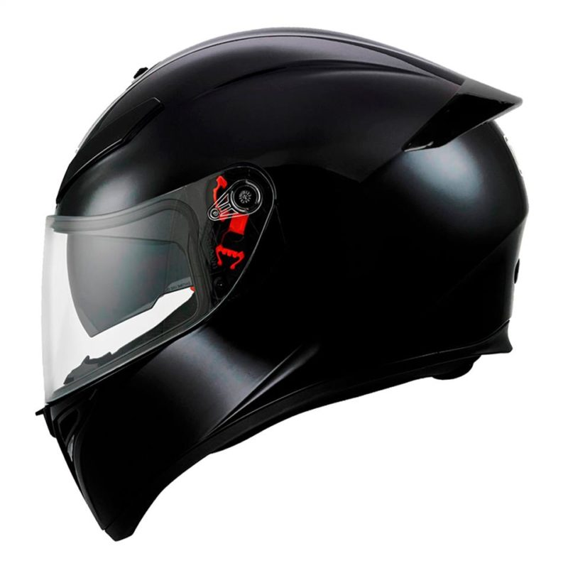 AGV K3 SV-S SOLID BLACK
