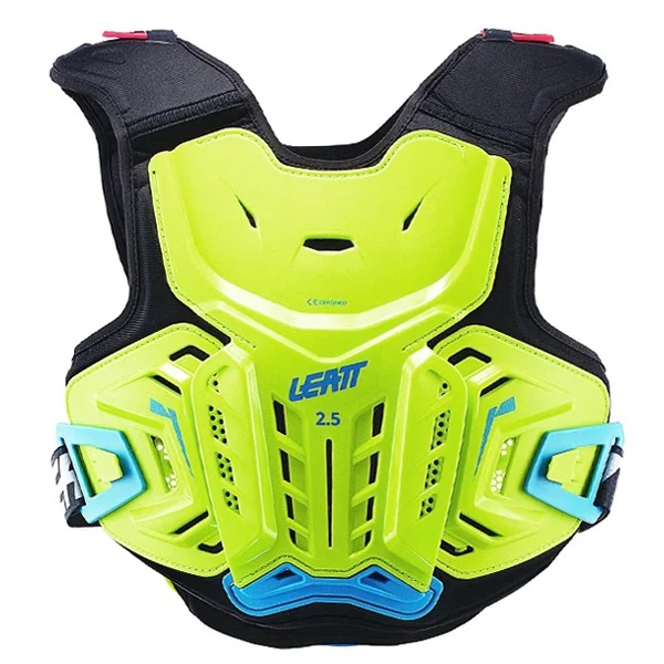 Leatt 2.5 Junior Chest Protector - Lime Blue