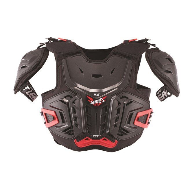 CHEST PROTECTOR 4.5 PRO BLACK/RED JUNIOR