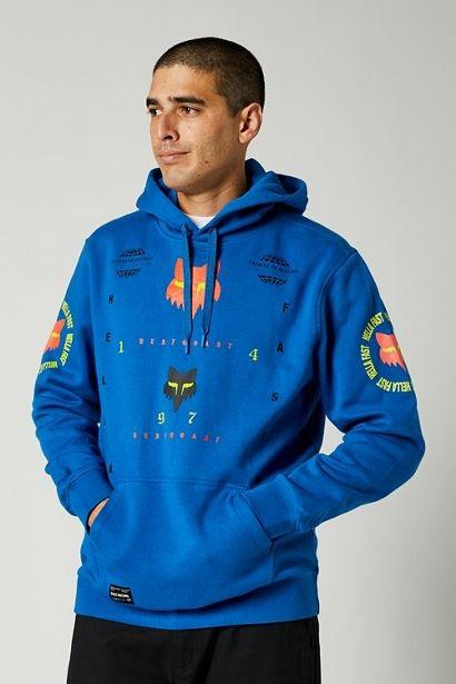 Fox MAWLR Pullover Hoodie Royal Blue
