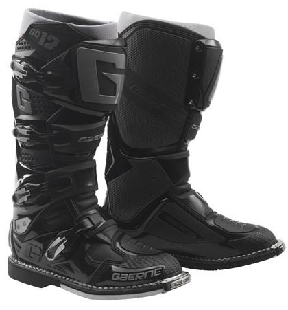 Gaerne SG12 Black Motocross Boots