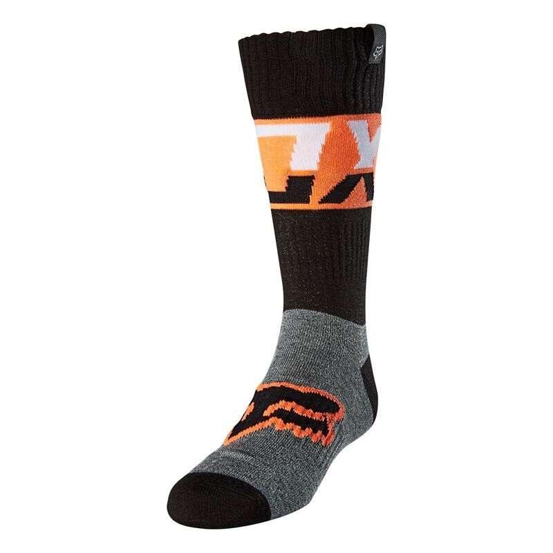 Fox Youth Afterburn Sock Black
