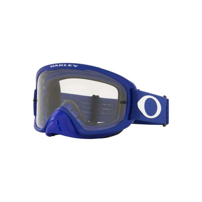 Oakley O Frame 2.0 Pro MX Goggle (Moto Blue) Clear Lens