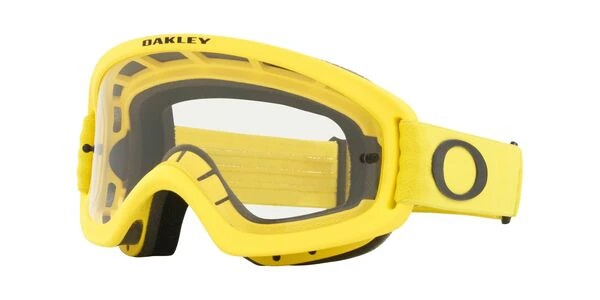 Yellow Oakley O Frame Goggles
