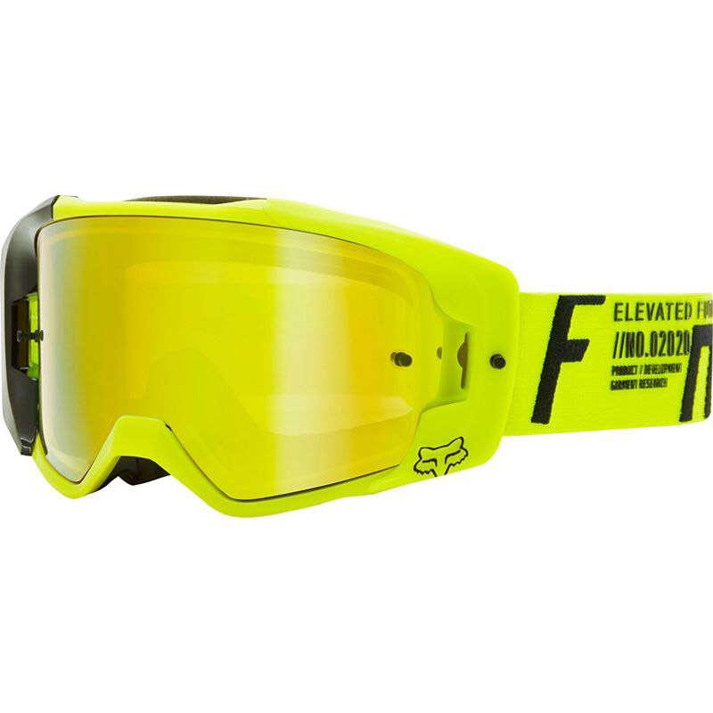 Yellow Fox Racing Goggles