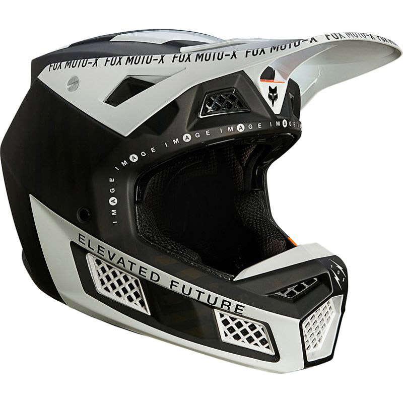 Fox V3 RS Rigz Helmet black