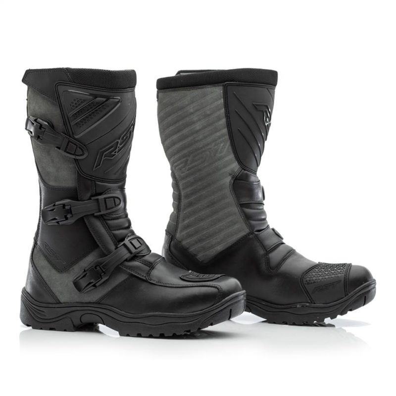 RST RAID CE MENS WATERPROOF BOOT Black