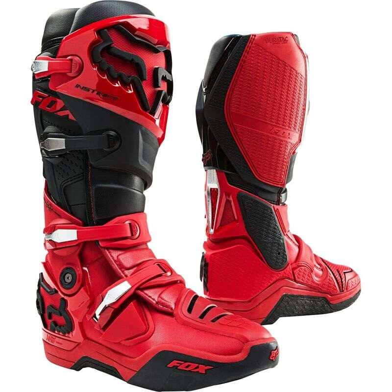 Fox Instinct Boot Red/Black
