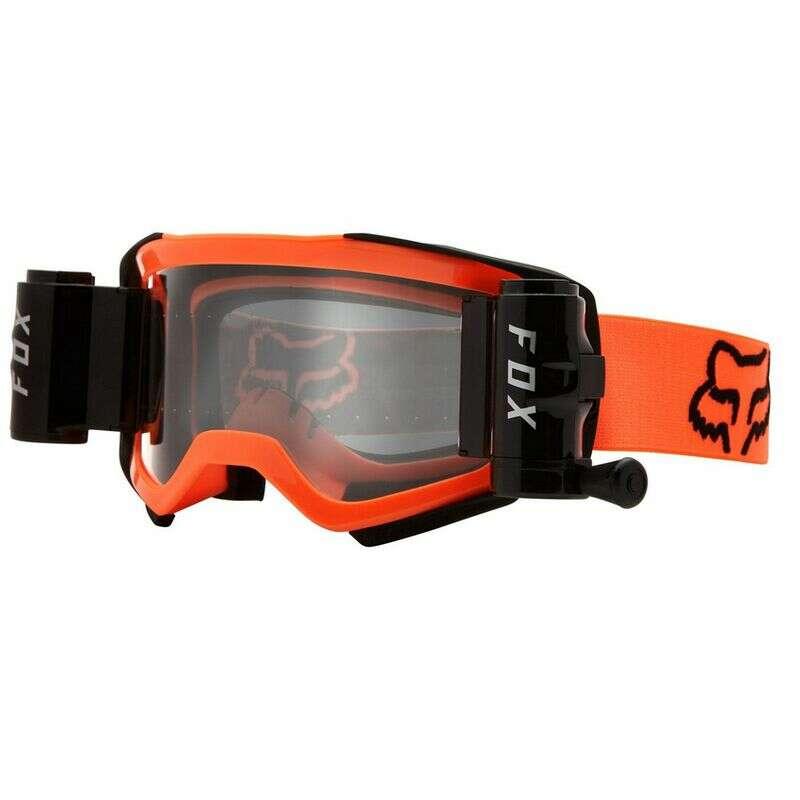 Fox racing roll off goggles