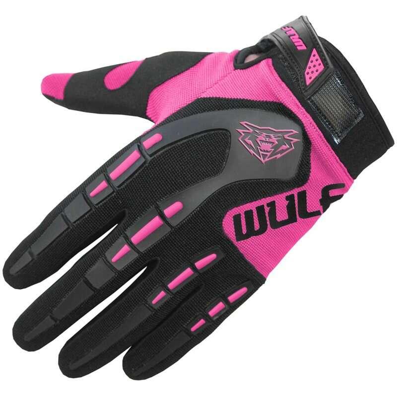 Kids pink mx Gloves