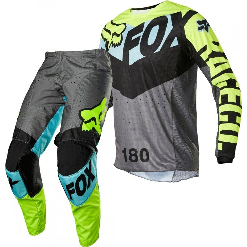 Fox 180 TRICE Motocross Gear Teal