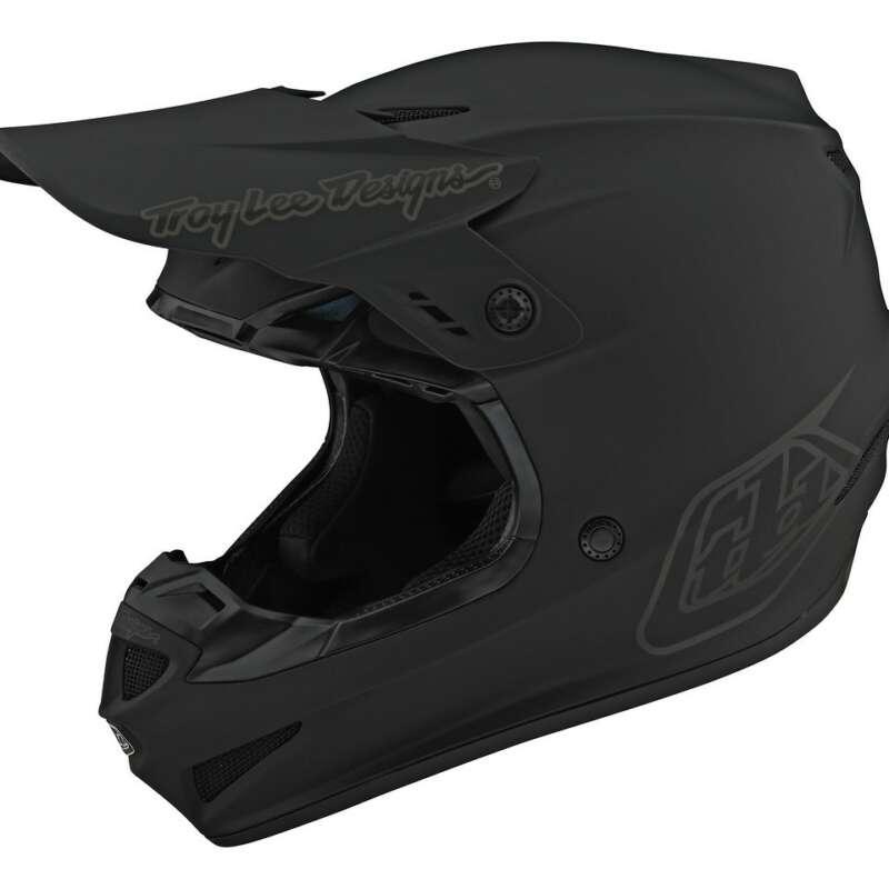 Black Troy Lee Helmet