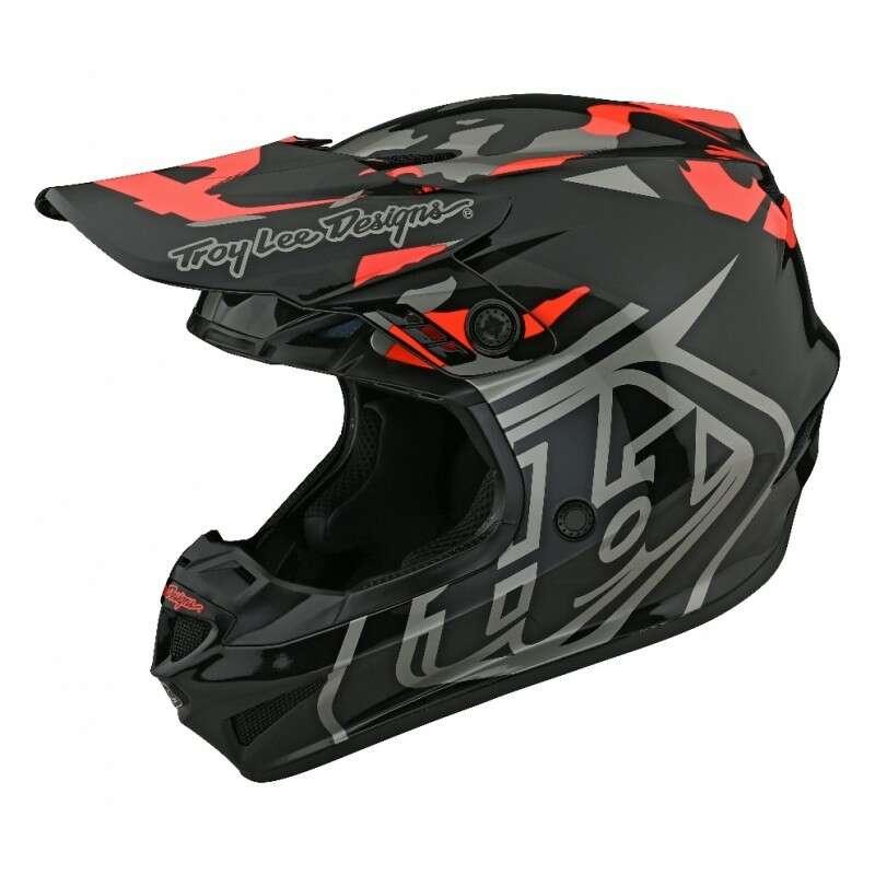 Troy Lee Designs GP Helmet Overload Camo