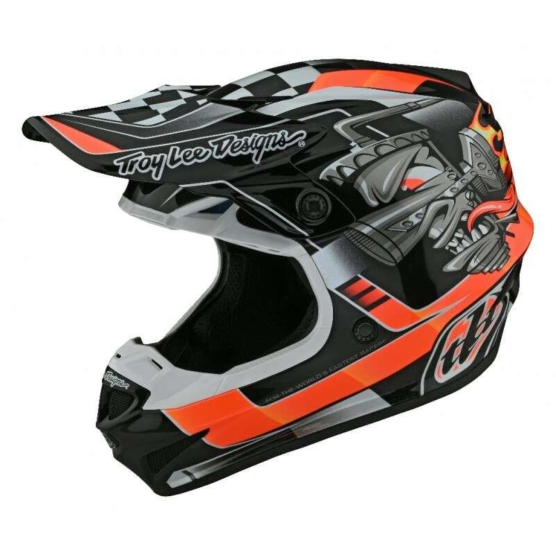 troy lee designs mx helmets
