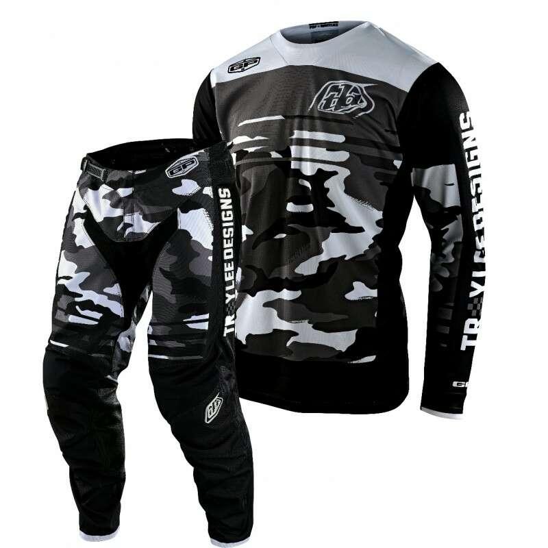 Troy Lee Camo Motocross Gear