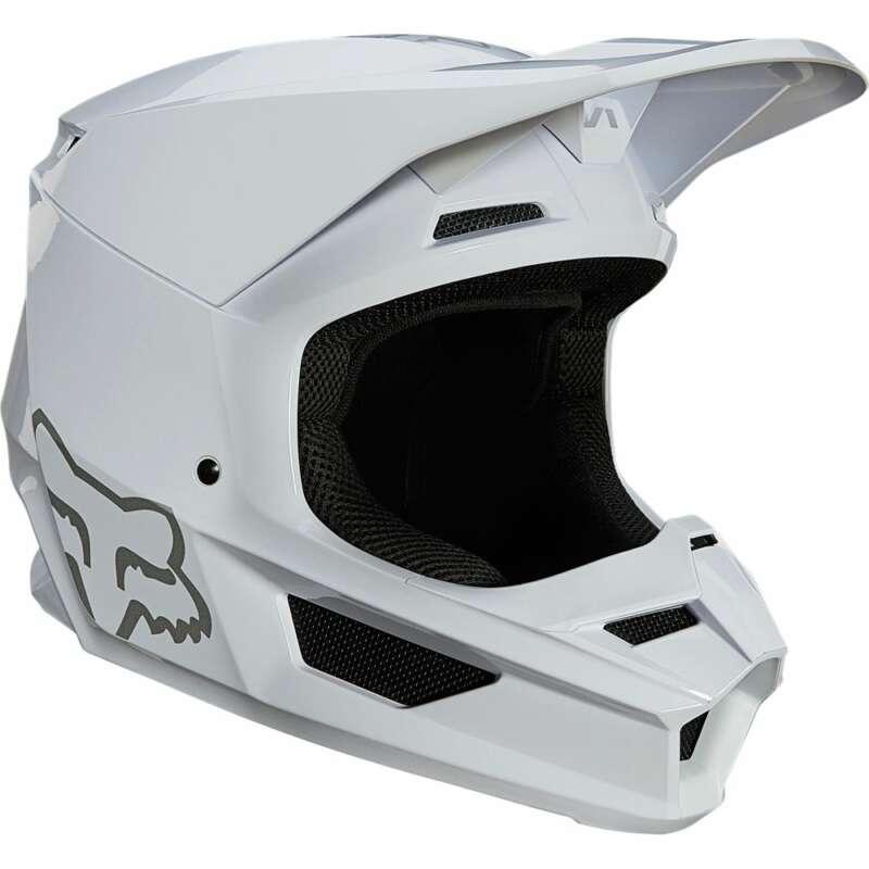 White Fox V1 Plaic Helmet