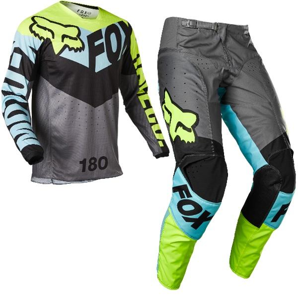 2022 fox racing kids motocross kit combo