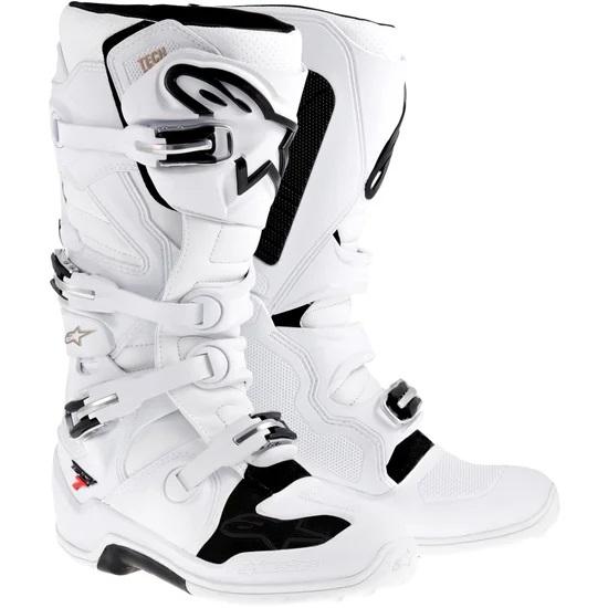 White Alpinestars Tech 7 Boots