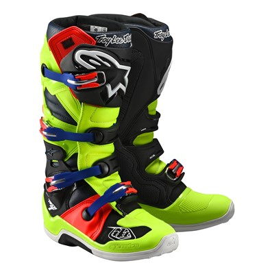 Alpinestars Troy Lee Designs Tech 7 Flo ylw/red Bootss