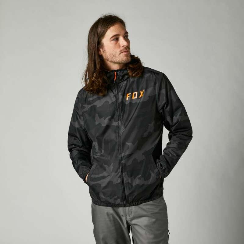 Fox Racing Clean Up Camo Windbreaker Jacket