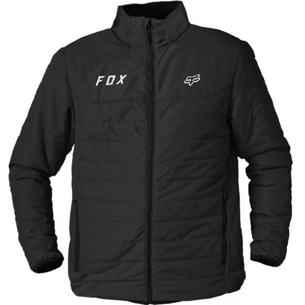 Fox Racing Howell Black Puffy Jacket