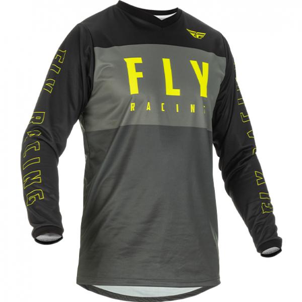 Fly Racing 2022 F-16 Grey Black Hi Vis Jersey